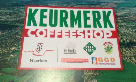 """Succesvol """"keurmerk"""" coffeeshops in Haarlem"""