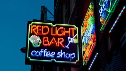 Coffeeshops vroeger, nu, morgen