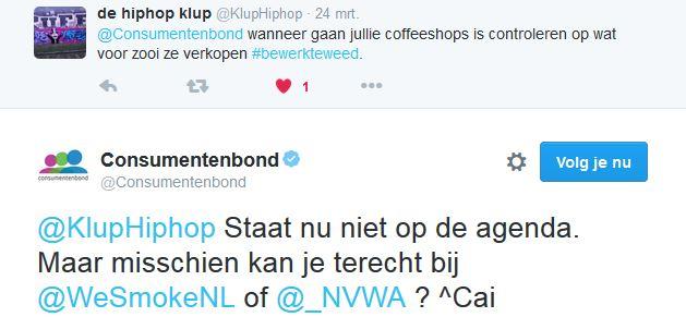 Tweet Consumentenbond