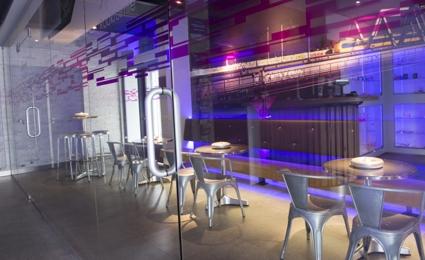 Rookruimte bij coffeeshop Xpresso in Zwijndrecht
