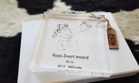 Koos Zwart Award 2016