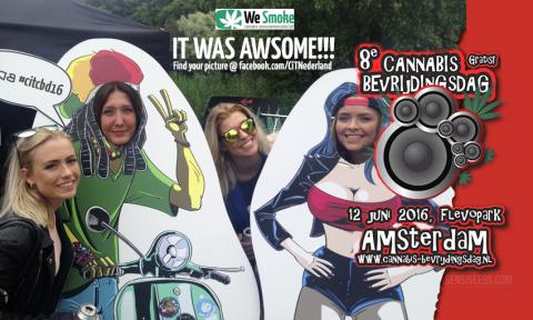 Foto's: Cannabis Bevrijdingsdag