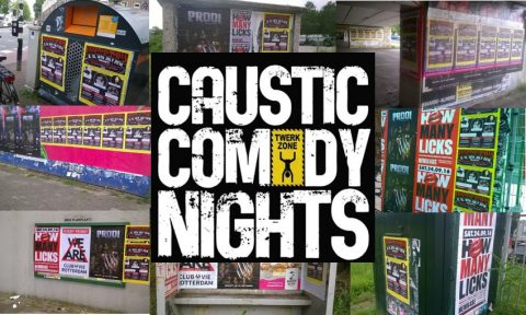 Next: Caustic Comedy Event