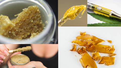 Gids voor cannabis concentraten